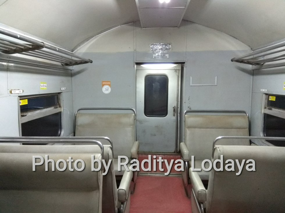 Kereta Api Bisnis (K2) di Kereta Api Lokal Cibatuan (5/5)