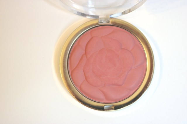 Rose blush on day 1