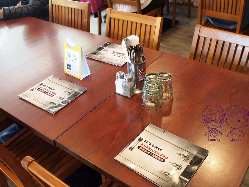 臺北 -《Ed's Diner美式BBQ燒烤餐館》最道地的美式慢火燻烤美食.高CP值豬肋排 牛胸肉   大直 美麗華 20180310 ...