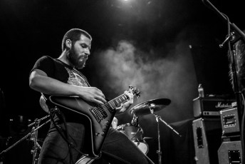 Kevin Eisenlord - Decibel Magazine Tour with Khemmis at Rickshaw Theatre in Vancouver, BC on March 5th, 2018