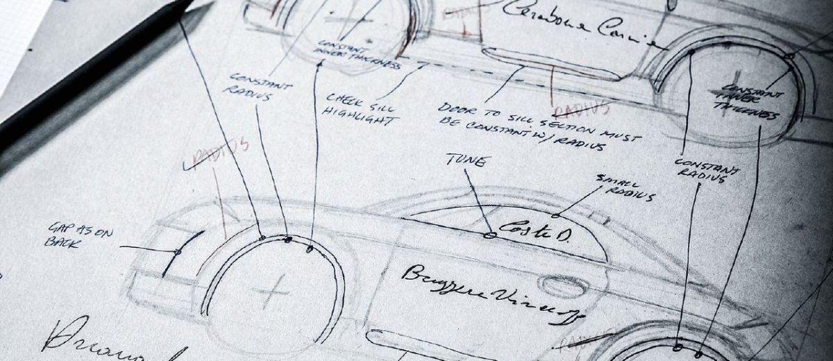 Audi TT design sketches - TT Illustrated magazine