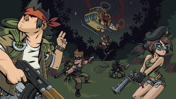 Mercenary Kings Reloaded - Splash Screen