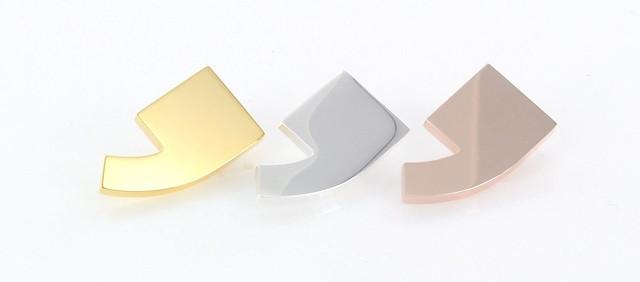 pinsy 3 kolory: srebrzenie i złocenie w dwóch odcieniach złota