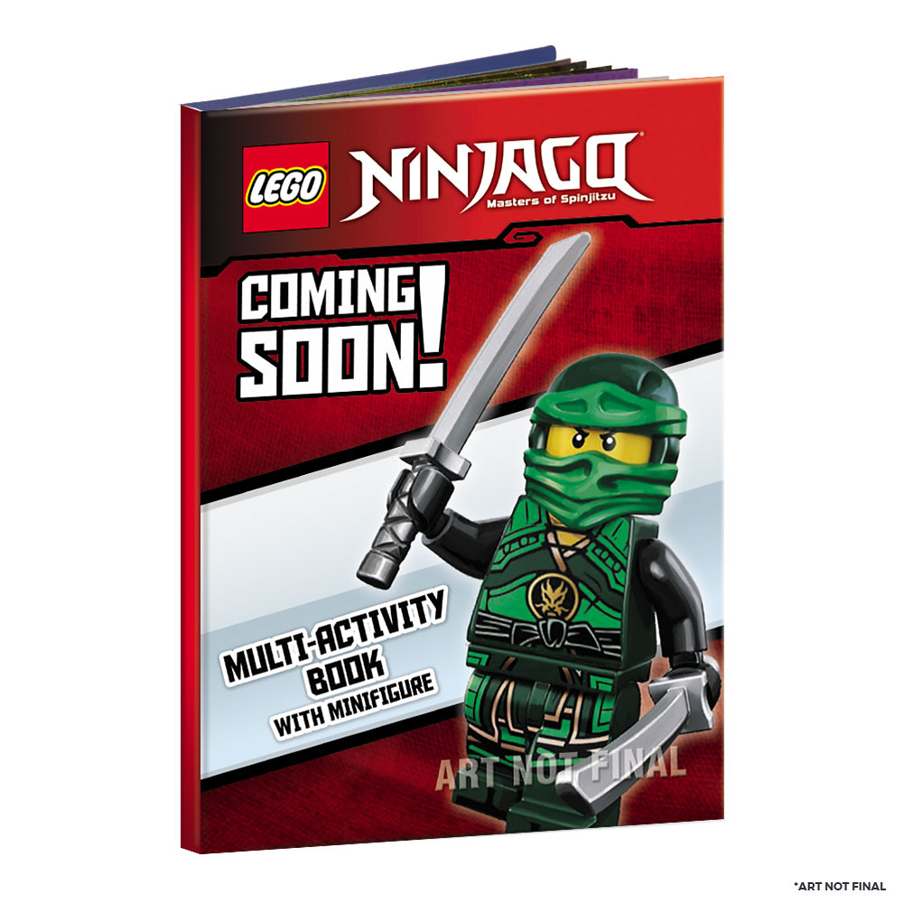 The LEGO Ninjago Multi Activity Book