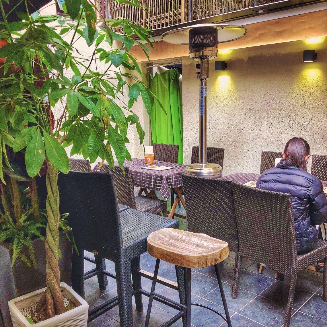 Central soho restaurant