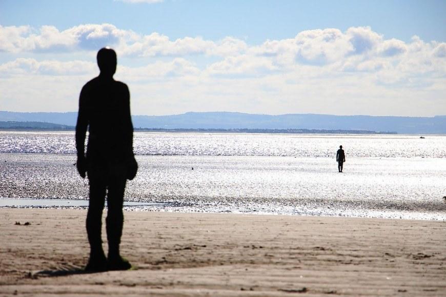 Iron Men Beach Statue - From Pixabay