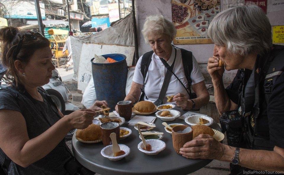 Tasting local street food