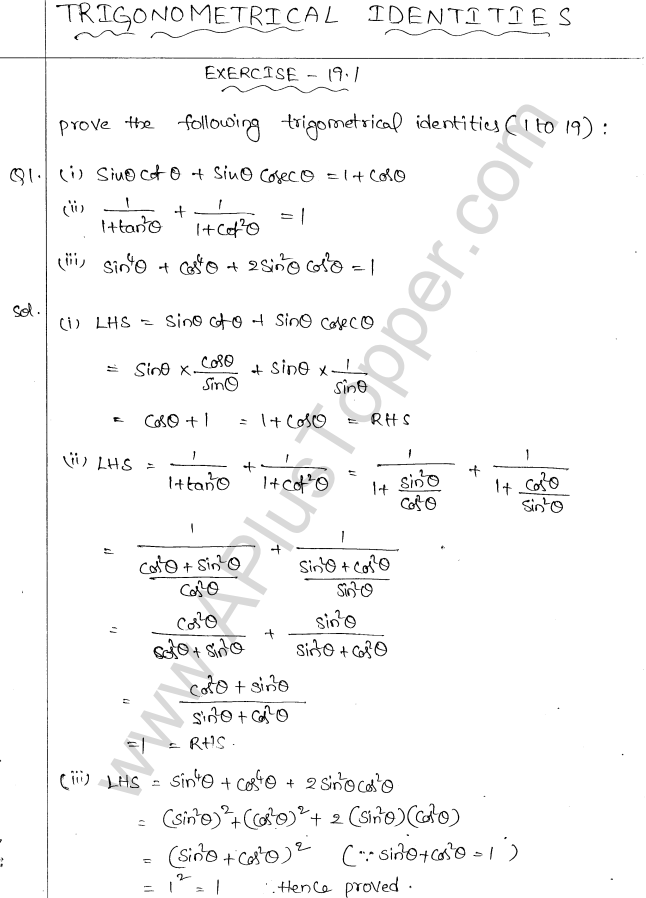 ml-aggarwal-icse-solutions-class-10-maths-ch-19-trigonometric-identities-1