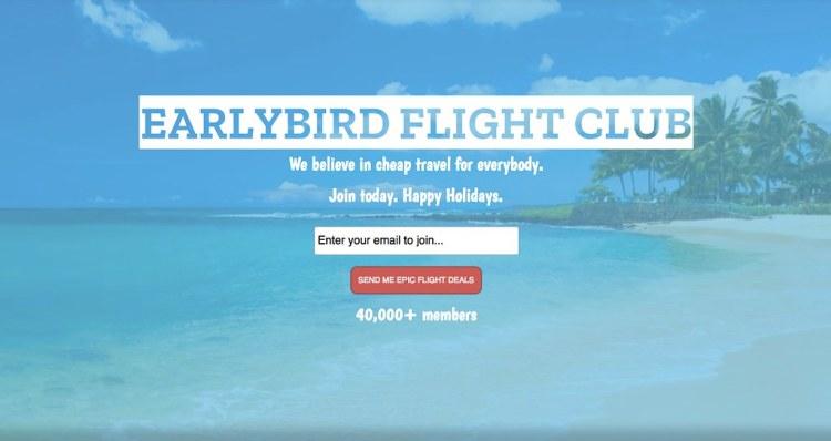 EarlyBird Flight Club