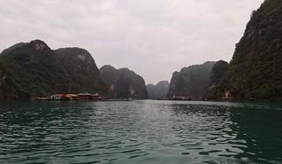 Floating fisherman's village