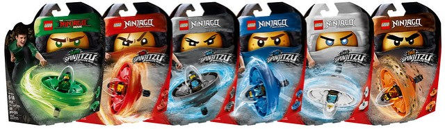 REVIEW LEGO Ninjago 2018 Spinjitzu Masters
