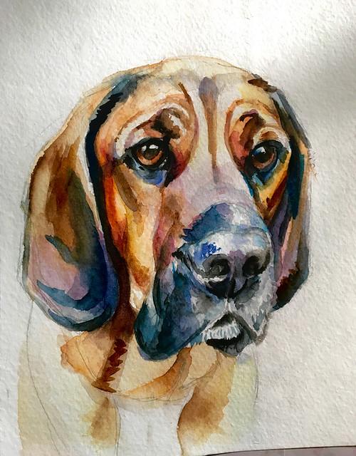 Tell Me Tuesday Watercolour