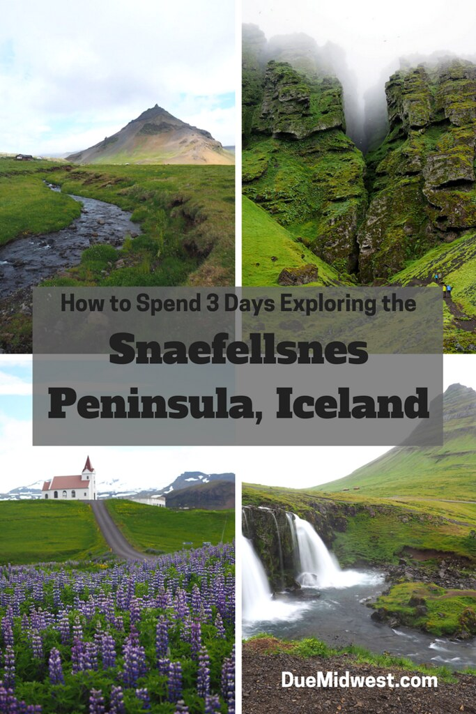 "Experience the Snaefellnes Peninsula in Iceland. Get off of the ring road and spend three days exploring ""Iceland in Miniature"""