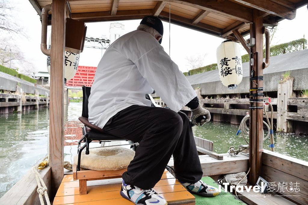 京都赏樱景点 伏见十石舟 (40)