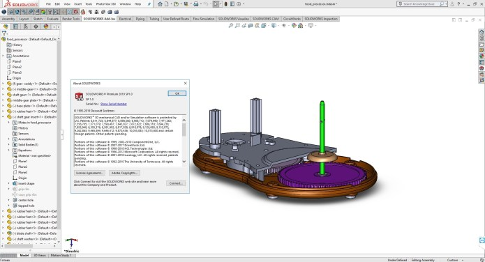 Design with SolidWorks 2019 SP1.0 full license