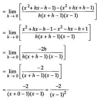 NCERT Solutions for Class 11 Maths Chapter 13 Limits and Derivatives 74