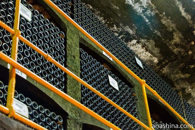 """Винная коллекция винодельческого завода """"Массандра"""", Ялта, Крым"""
