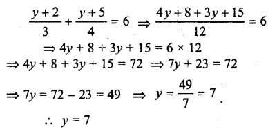 Selina Concise Mathematics class 7 ICSE Solutions - Simple Linear Equations (Including Word Problems) -c18.