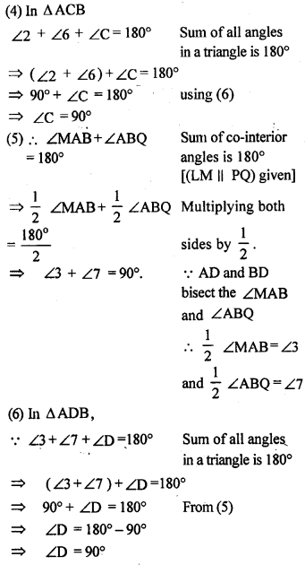 ML Aggarwal Class 9 Solutions for ICSE Maths Chapter 13 Rectilinear Figures  ex 17d