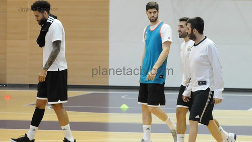 Entrenamiento previo J13 Euroleague - Real Madrid vs Panathinaikos (18-12-2018)