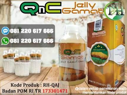 Masker Bopeng QNC Jelly Gamat