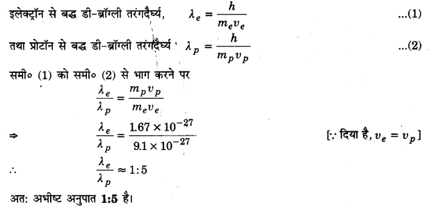 UP Board Solutions for Class 12 Physics Chapter 11 Dual Nature of Radiation and Matter L14