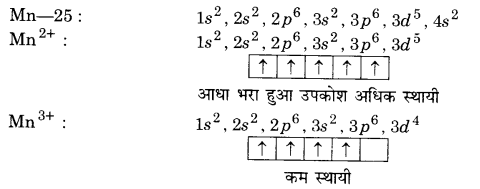 UP Board Solutions for Class 12 Chemistry Chapter 8 The d and f Block Elements 3Q.4