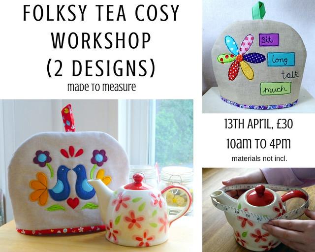 Folksy Tea Cosy Workshop