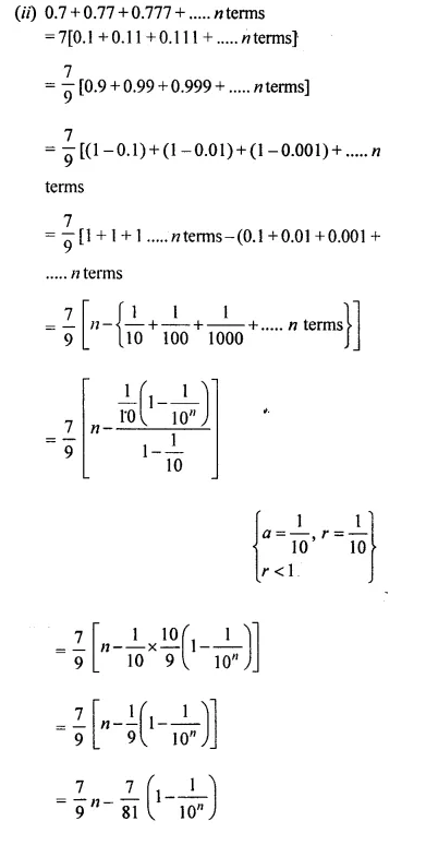 Selina Concise Mathematics Class 10 ICSE Solutions Chapterwise Revision Exercise 54A