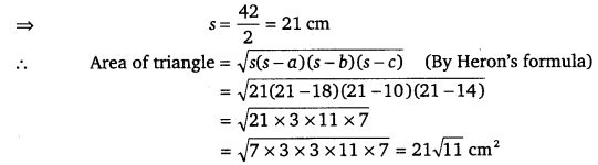 NCERT Solutions for Class 9 Maths Chapter 12 Heron's Formula 6