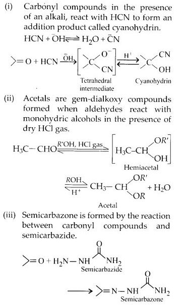 NCERT Solutions for Class 12 Chemistry Chapter 12 Aldehydes, Ketones and Carboxylic Acids e1