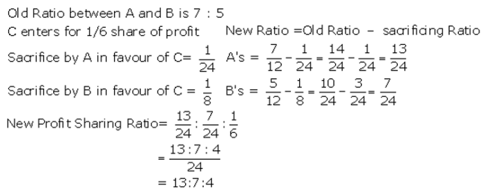 TS Grewal Accountancy Class 12 Solutions Chapter 4 Admission of a Partner Q3