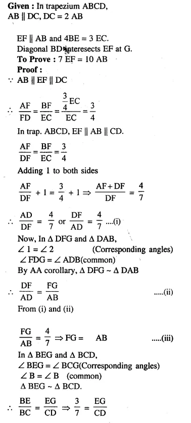 Selina Concise Mathematics Class 10 ICSE Solutions Chapterwise Revision Exercise 74A