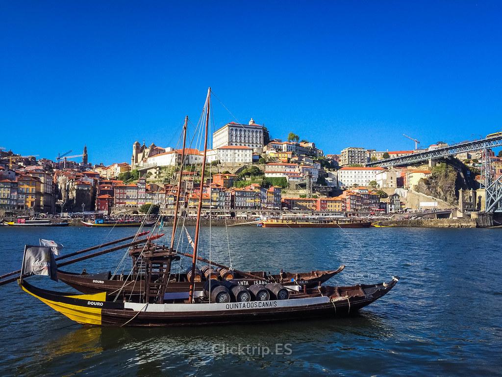 Ruta por Oporto y alrededores | Vistas de la Ribeira desde Vilanova de Gaia | Oporto en 3 días | ClickTrip.ES