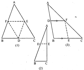 ML Aggarwal Class 9 Solutions for ICSE Maths Chapter 11 Mid Point Theorem    1