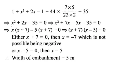 RD Sharma Class 10 Solutions Chapter 14 Surface Areas and Volumes Ex 14.1 30a