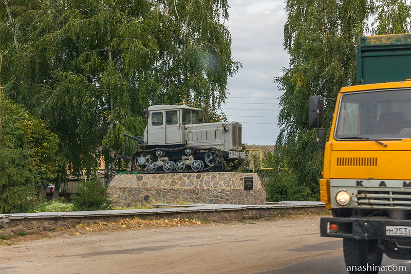 Трактор Т-74, Петропавловка, Воронежская область