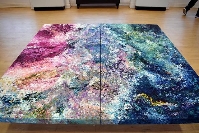 Rachel McBride Visual Artist - 'Absolutely Floored'