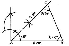 Selina Concise Mathematics class 7 ICSE Solutions - Triangles -c5a