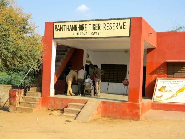 Reserva de tigres de Ranthambore