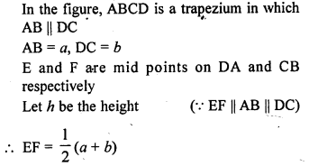 ML Aggarwal Class 9 Solutions for ICSE Maths Chapter 14 Theorems on Area    mcq  7