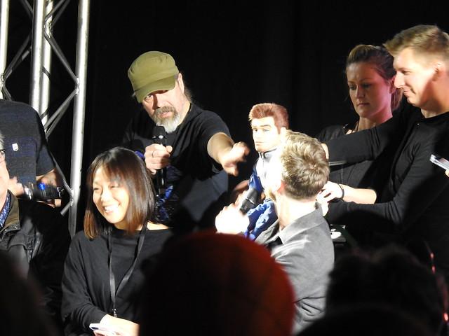Firestorm panel - MCM Comic Con - Sam Payne Picture 4