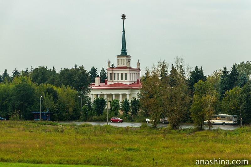 Железнодорожный вокзал в Горках Ленинских