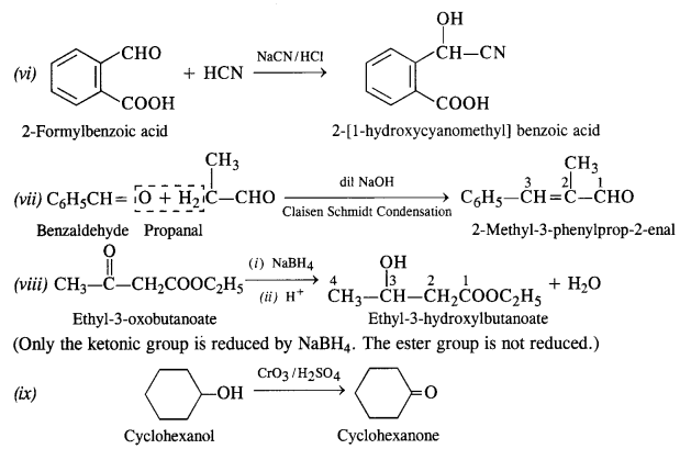 NCERT Solutions for Class 12 Chemistry Chapter 12 Aldehydes, Ketones and Carboxylic Acids e17c
