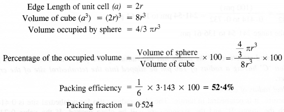 NCERT Solutions for Class 12 Chemistry Chapter 1 The Solid State 11