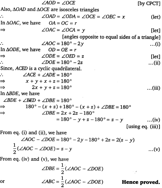 NCERT Solutions for Class 9 Maths Chapter 10 Circles 48