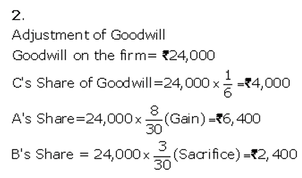 TS Grewal Accountancy Class 12 Solutions Chapter 5 Retirement Death of a Partner Q38.5