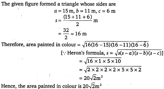 NCERT Solutions for Class 9 Maths Chapter 12 Heron's Formula 5