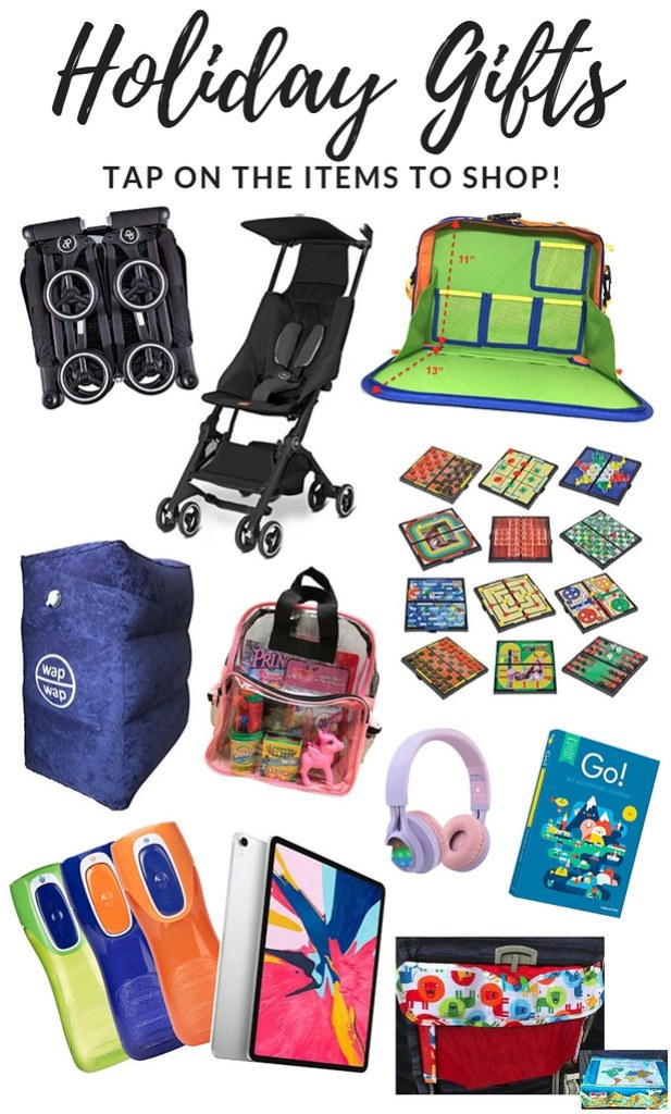 Holiday Gift Ideas: Best Travel Items for Kids
