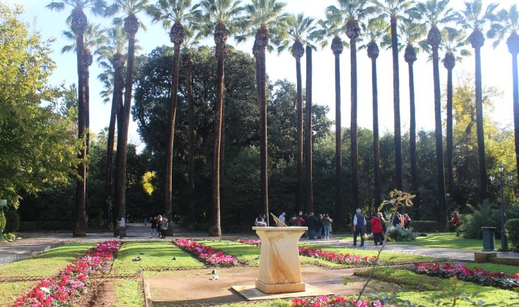 The National Gardens of Athens